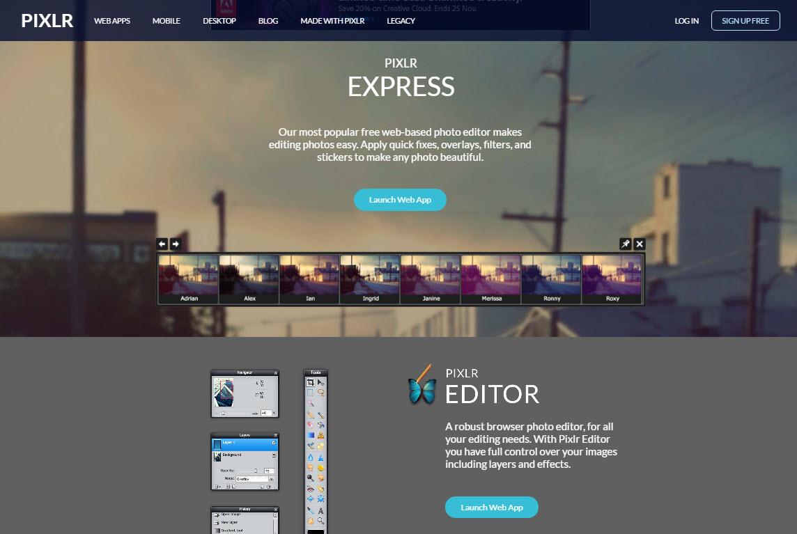 7 เว็บไซต์การแต่งภาพออนไลน์ฟรี โดยไม่ต้องพึ่งโปรแกรม | blog